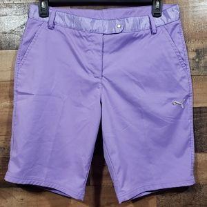 Puma sports dry cell purple golf shorts